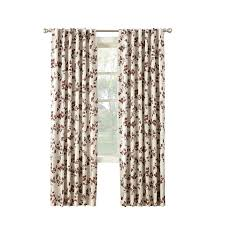 Moroccan Tile Curtain Panels by Shop Curtains U0026 Drapes At Lowes Com