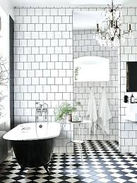 Little Mermaid Bathroom Accessories Uk by Black And White Floor Tiles Small Basketweave Bathroom Tile