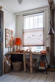 100 This Warm House Tour A Dutch Writer Driftwood Artists Home Apartment Therapy