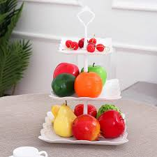 Detail Feedback Questions About Three Tiers Cake Display Stand Fruit