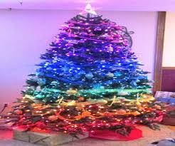 8ft Christmas Tree Uk by Aluminum Christmas Tree Color Wheel Christmas Lights Decoration