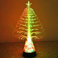 Fiber Optic Christmas Tree Philippines by Colorful Led Fiber Optic Nightlight Christmas Tree Lamp Light