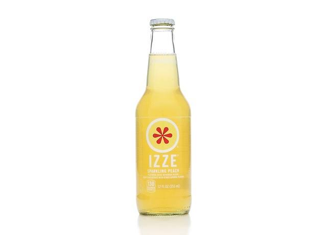 Izze Sparkling Juice, Apple - 12 fl oz bottle