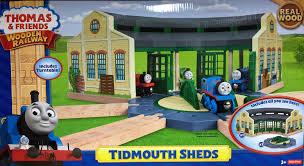 Thomas The Train Tidmouth Shed Trackmaster by Tidmouth Sheds With Turntable Thomas U0026 Friends Wooden Railway