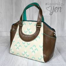 annette handbag u0026 tote swoon sewing patterns