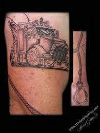 100 Truck Tattoo Realistic Inner Forearm Guys 3d Semi Design Ideas