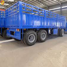 New 20ft Two Axles 30ton Flatbed Full Trailer - Buy Full Trailer ...