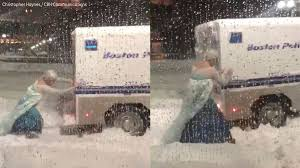 Let It Go: Man Dressed As Elsa From '#frozen' Frees Police Truck ... Off Road And Stuck Reality Youngstown Plow Truck Gets In Sink Hole Truck Snow Youtube Fire Stuck Snow Tow411 In Snowbank Or Ditch Stock Photo Image Of Plowed Photos Boston Endures Another Winter Storm Wbur News Dsci1383jpg Id 597894 Semi How To Get Your Car Unstuck From Ice Aamco Colorado Heavy Snowfall Hit Tokyo Pictures Getty Images Big New York City Sanitation Forever Snowy Night Tractor Trailer Slips On The Road Winter Video