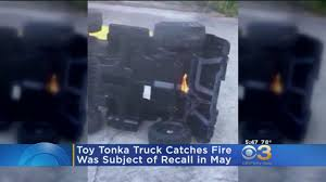100 Tonka Truck Videos Toy Catches Fire CBS Philly