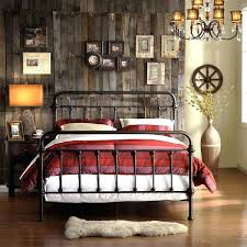 Retro Style Headboards Vintage Bed Frame Iron Cast Wrought Bedroom Furniture Rustic Antique Metal Tribe