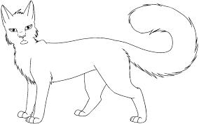 Warrior Cat Coloring Sheets