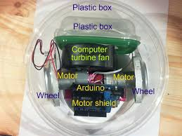 Floor Cleaning Robot Project Report by Floor Vacuum Robot Controlled By Arduino With Motor