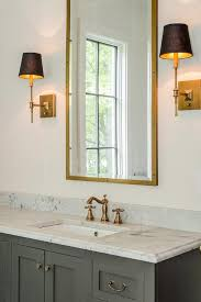 brass rivet mirror design ideas