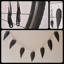 bijoux en chambre a air pedals bijoux issus d un travail minutieux de