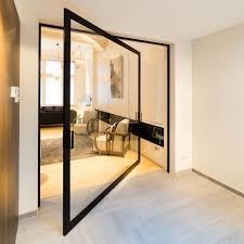 Aluminum door frame BKO minimalist door frame ANYWAY DOORS