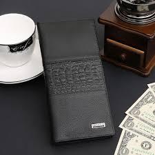 909 2016 new long models of men u0027s leather business wallet