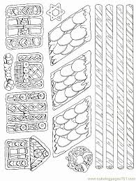 Ginger Bread House Coloring Pages 176