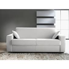canape cuir blanc convertible banquette design tissu banquette cuir blanc wiblia com