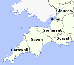 Devon And Cornwall Form The Far Southwest Tip Of England Jutting Out Into Atlantic Ocean This Is One Britains Most Popular Tourist Areas
