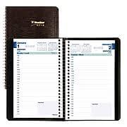 bureau en gros agenda blueline agendas quotidiens et planificateurs 1 jour par page