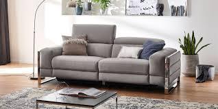 leder couchgarnitur 3 2 1 elektrisch verstellbar imperial