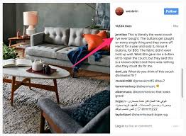 West Elm Everett Chair Leather by West Elm Pulls Peggy Sofa After Backlash Business Insider