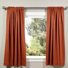 half price drapes plush solid blackout thermal rod pocket curtain