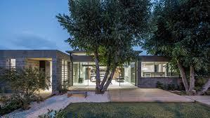 100 Architecture Houses Israeli Architect Couple Use Concrete Blocks To Build