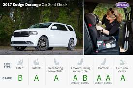 Dodge Durango Captains Chairs by 2017 Dodge Durango Car Seat Check News Cars Com
