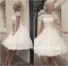 Jacqueline Vintage Lace Short Wedding Dress Dresses