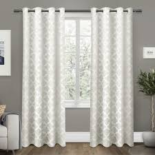 Kmart Curtains And Drapes by Emery Lined 3 Piece Swag Jabot Curtain Set 63l Sky Kitchen And
