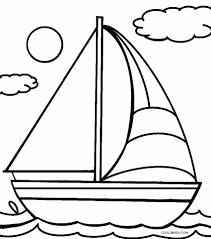 For Kid Coloring Pages Of Boats 73 To Download With