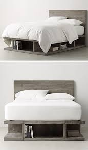 best 25 bed frame diy storage ideas on pinterest full size