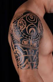 Polynesian Tribal Tattoo Designs For Men 1000 Ideas About Shoulder Tattoos On Pinterest