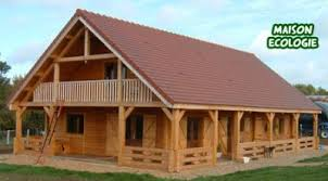 chalet en rondin en kit maison ecologie constructeur de maison bois et chalet en kit