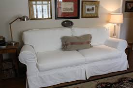 Broyhill Emily Sofa Navy by Make Slipcovers More Holly Mathis Interiors