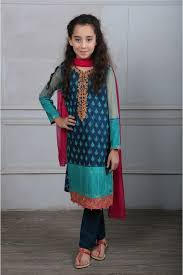 Maria B Fancy Kids Dresses Designs For Girls 2016 2017 Latest Collection 6