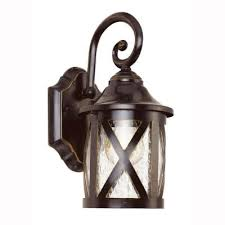 carriage house 1 light outdoor bronze wall lantern with