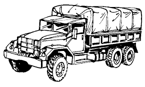 Sensational Army Truck Coloring Pages DMVA Youth Programs Community Relations Within