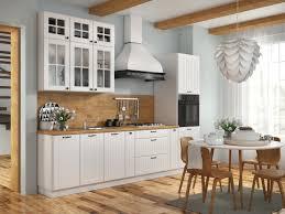 landhaus küchenzeile eckküche lora l form 235x365 cm in weiß