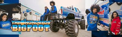 100 Ace Ventura Monster Truck The Blot Says The Hundreds X BIGFOOT The Original