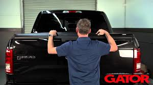 how to install gator trifold soft folding tonneau cover at