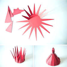Construction Paper Craft Ideas For Adults Recycling Gift Boxes In Red Color