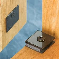 Magnetic Locks For Furniture by Low Profile Magnetic Catches Choose Size Rockler Woodworking Tools