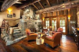 Hunting Cabin Furniture Living Room Lodge Style Modern Rustic Cool Ideas