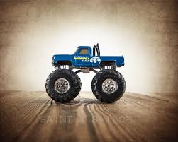 Vintage Monster Truck Bigfoot | Saint & Sailor Studios