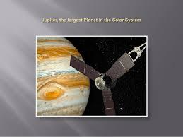 Jupiter The Largest Planet In Solar System By Amita Vadlamudi