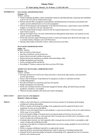 Download Manager Administration Resume Sample As Image File