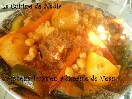 recette cuisine couscous tunisien la cuisine de couscous tunisien à l epaule de veau recette