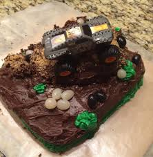 99 How To Make A Monster Truck Cake My Son Wanted To Make A Monster Truck Cake For His Boy Scout Charity